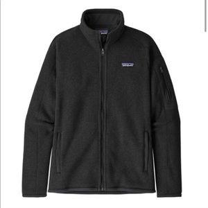 Patagonia Better Sweater Black Fleece Jacket
